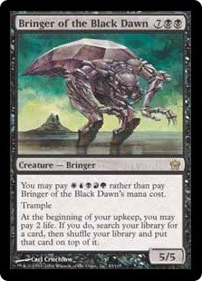 Bringer of the Black Dawn (Fifth Dawn)