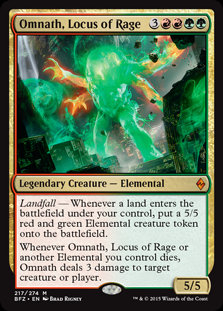 Omnath, Locuse of Rage (Battle for Zendikar)