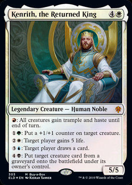 Kenrith, the Returned King (Foil / Throne of Eldraine)