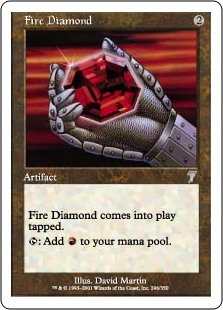 Fire Diamond (Foil / 7th)