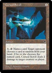 Cursed Scroll (Tempest)