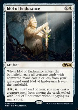 Idol of Endurance (CoreSet 2021)