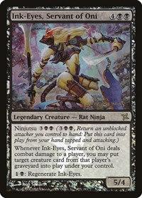 Ink-Eyes, Servant of Oni (Prerelease Foil / Betrayers of Kamigawa)