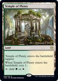 Temple of Plenty (Prerelease Foil / Theros Beyond Death)