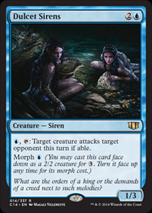 Dulcet Sirens (Commander 2014)