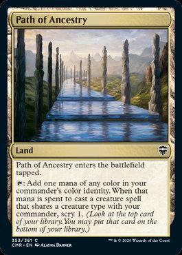 Path of Ancestry (Foil / Commander Legends)