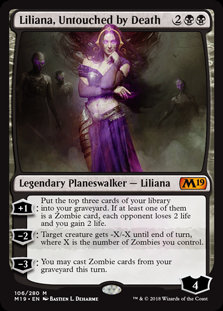 Liliana, Untouched by Death (CoreSet 2019)