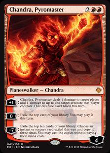 Chandra, Pyromaster (Archenemy - Nicol Bolas)