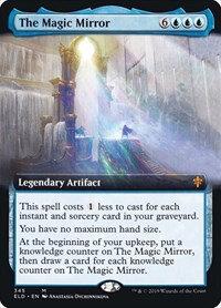 The Magic Mirror (Ext Art / Throne of Eldraine)