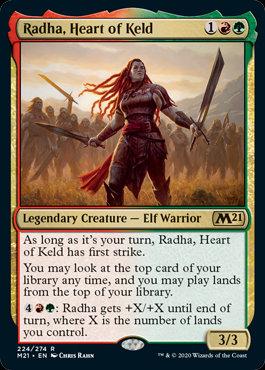 Radha, Heart of Keld (CoreSet 2021)