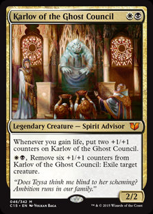 Karlov of the Ghost Council (Commander 2015)