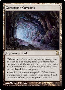 Gemstone Caverns (Time Spiral)