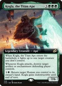 Kogla, the Titan Ape  (Ext Art / Japanese / Ikoria - Lair of Behmoths)