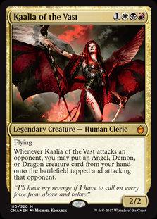 Kaalia of the Vast (Foil / Commander Anthology)