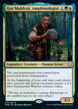 Gor Muldrak, Amphinologist (Commander Legends)