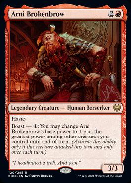 Arni Brokenbrow (Kaldheim)