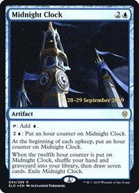 Midnight Clock (Prerelease Foil / Throne of Eldraine)