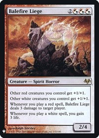 Balefire Liege (Foil / Mystery Booster)