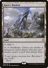 Karn's Bastion (Stamped / War of the Spark)