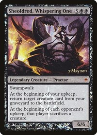 Sheoldred, Whispering One (Prerelease Foil / New Phyrexia)