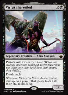 Virtus the Veiled (BattleBond)