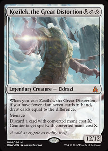 Kozilek, the Great Distortion (Oath of the Gatewatch)