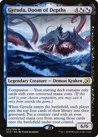 Gyruda, Doom of Depths (Stamped / Ikoria - Lair of Behemoths)