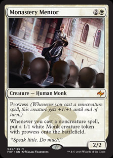 Monastery Mentor (Fate Reforged - Japanese)