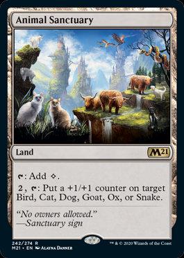 Animal Sanctuary (CoreSet 2021)