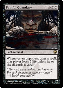 Painful Quandary (Scars of Mirrodin)