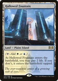 Hallowed Fountain (Stamped / Ravnica Allegiance)