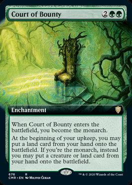 Court of Bounty (Ext Art  / Commander Legends)