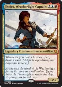 Jhoira, Weatherlight Captain (Prerelease Foil / Dominaria)