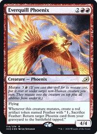 Everquill Phoenix (Prerelease Foil / Ikoria - Lair of Behmoths)