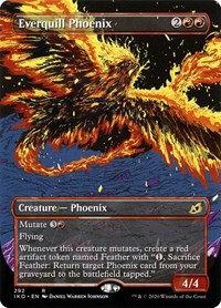 Everquill Phoenix (Alt Art / Ikoria - Lair of Behmoths)