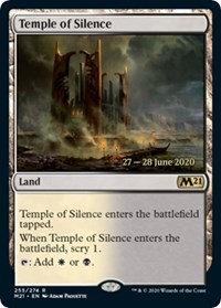 Temple of Silence (Prerelease Foil / CoreSet 2021)