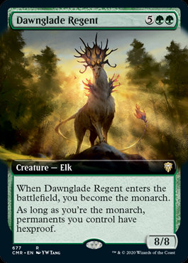Dawnglade Regent (Ext Art / Commander Legends)