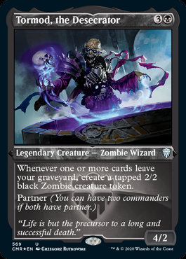 Tormod, the Desecrator (Etched Foil / Commander Legends)