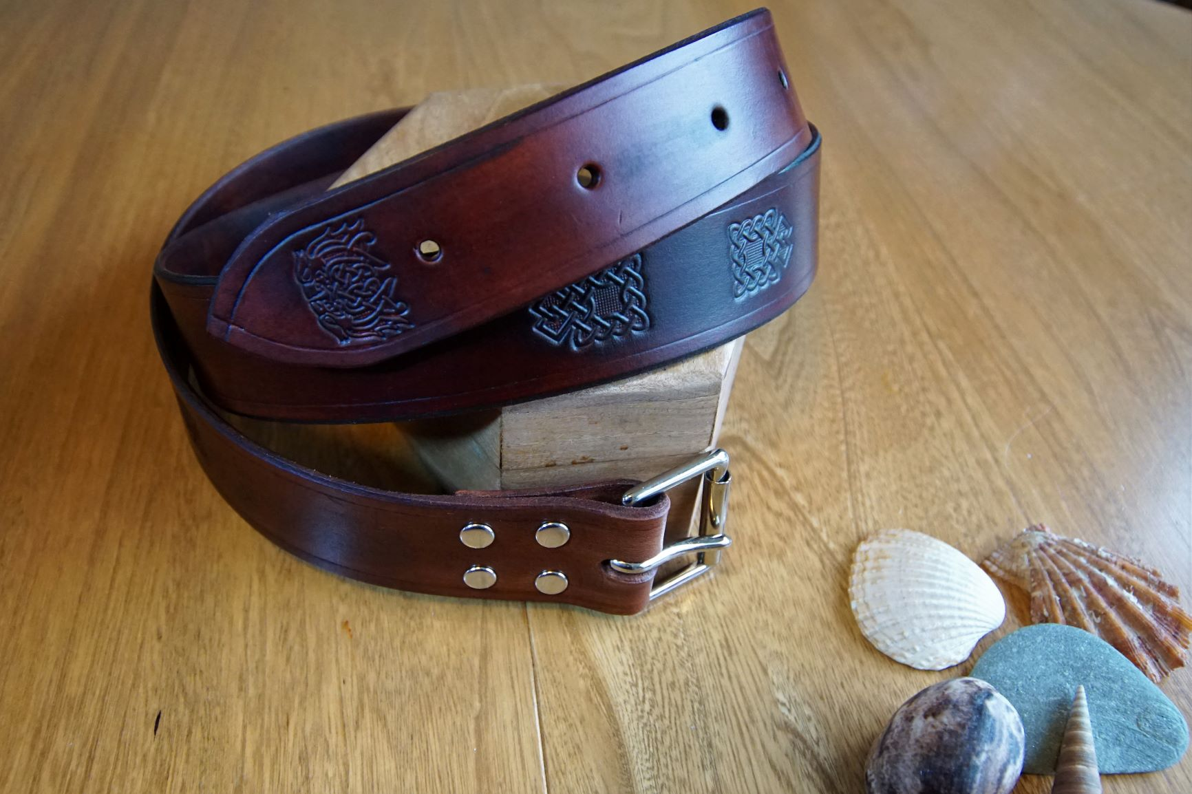 Mahogany belt b