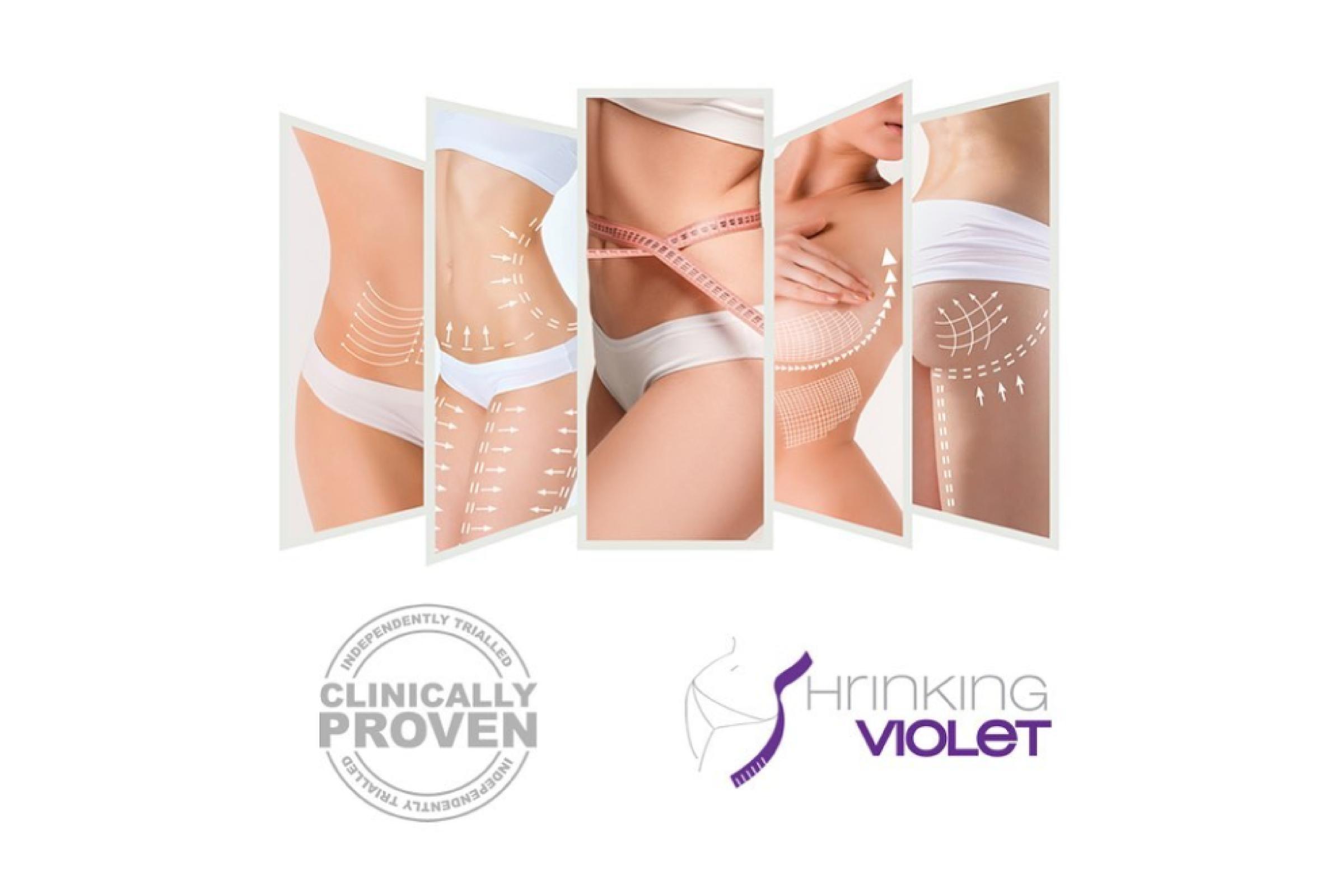 Shrinking Violet Body Wrap (single)