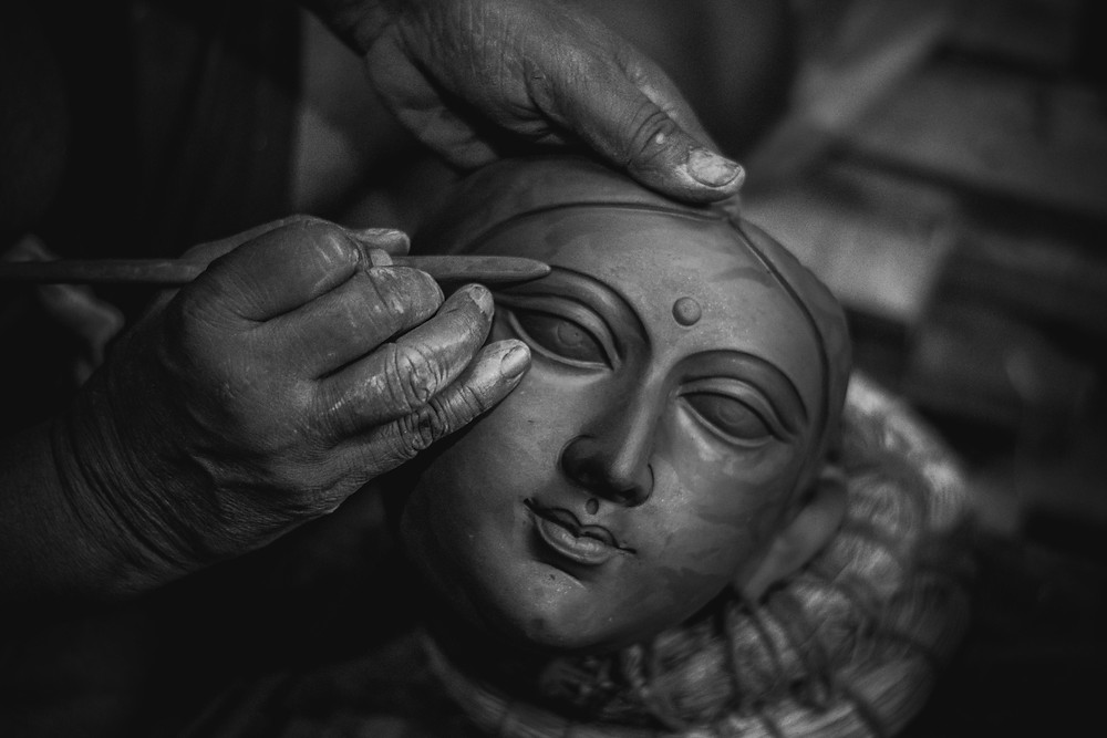 Offbeat things to do in Kolkata | Kumartuli Idols Kolkata