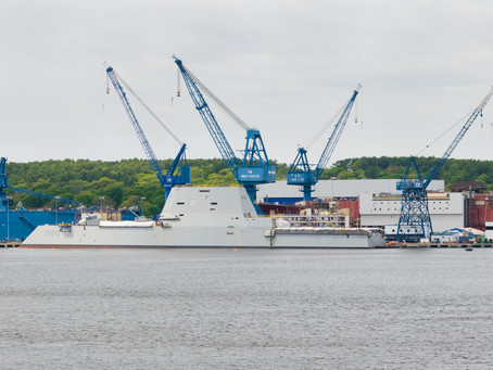 Bath Iron Works receives $26 million Navy contract for ship modernization