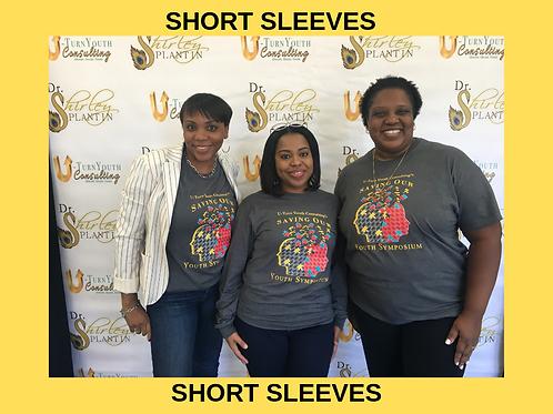 """Saving Our Youth Symposium"" T-shirt (Short Sleeve)"