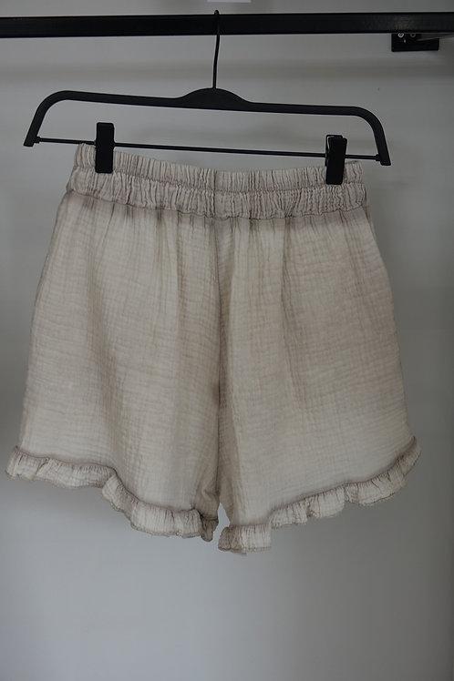 Short gaze de coton