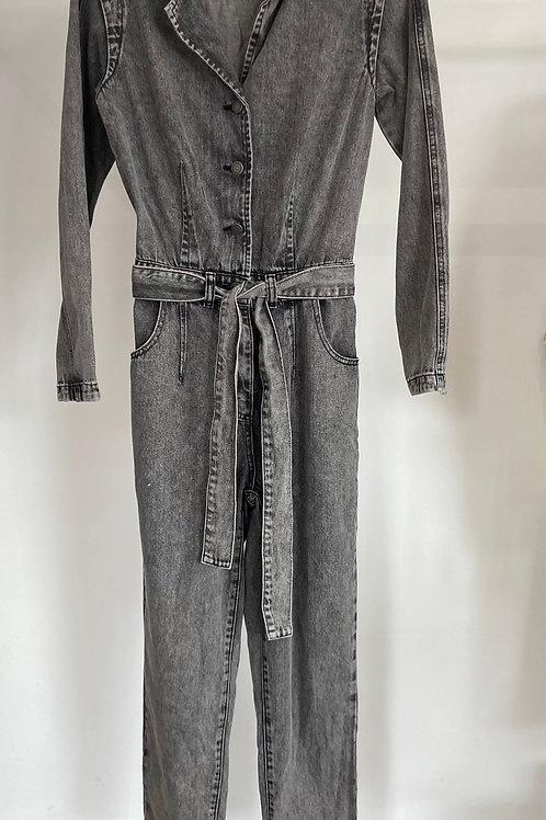 Combinaison jeans grise