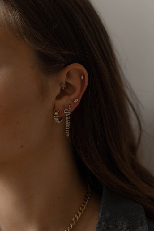Boucles d'oreilles Gaia & Enea