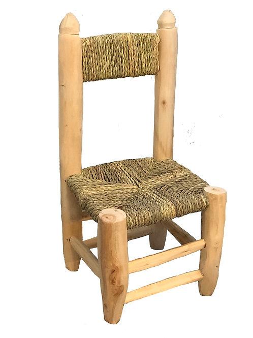Chaise enfant - Pompon decoration