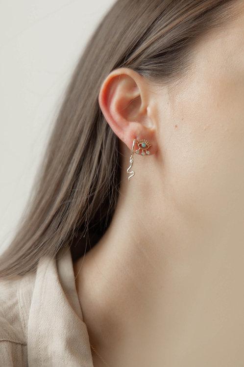 Boucles d'oreilles Amber
