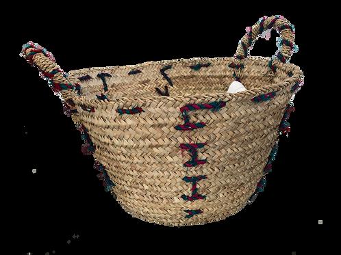 Panier - Pompon decoration