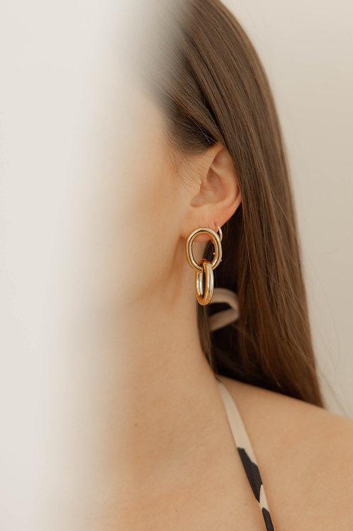 Boucles d'oreilles Teresa & Alexia